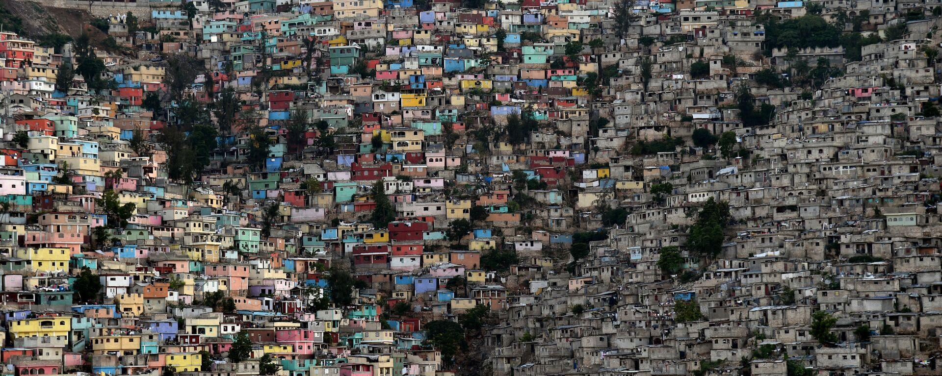 Hlavní město Haiti Port-au-Prince. - Sputnik Česká republika, 1920, 07.07.2021