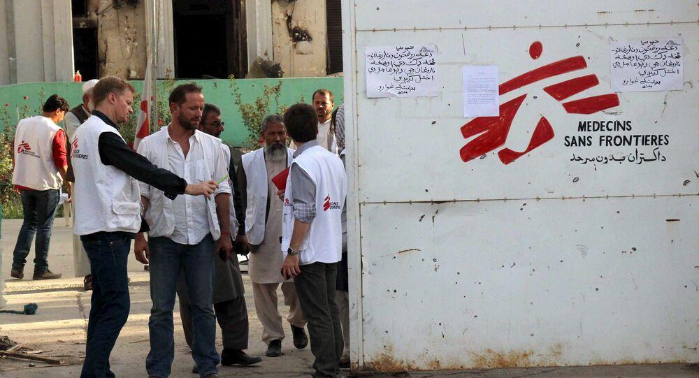 Pracovníci MSF