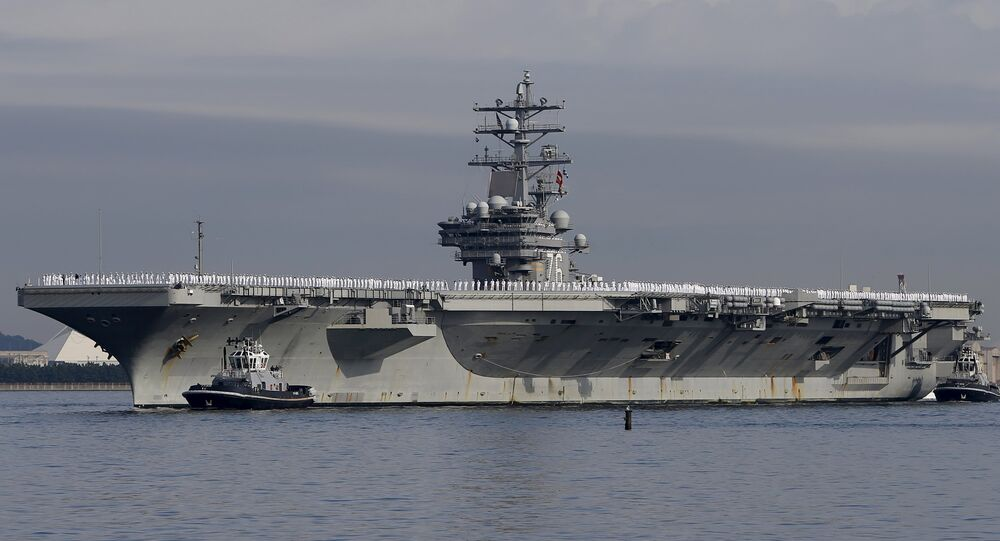 Letadlová loď Ronald Reagan
