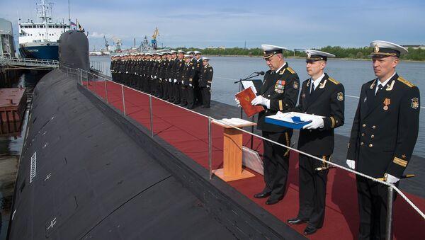 Ponorka Severodvinsk projektu Jaseň - Sputnik Česká republika