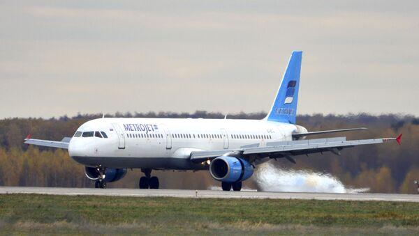 Letadlo Airbus А-321 společnosti Metrojet - Sputnik Česká republika