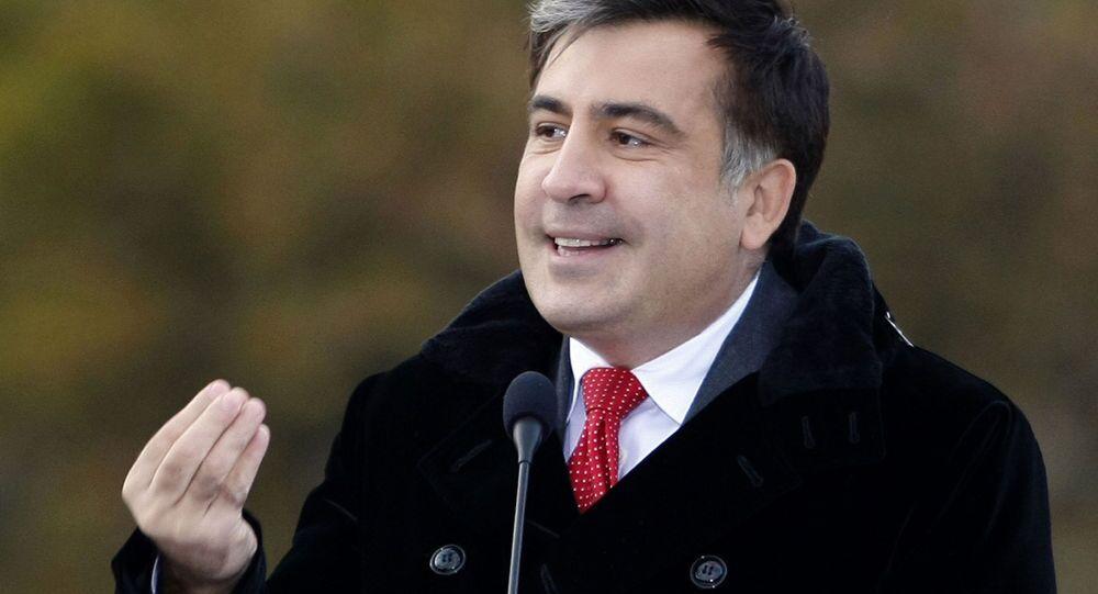 Bývalý prezident Gruzie Michail Saakašvili