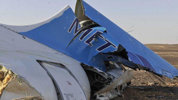 Нavárie ruského letadla Airbus-321 v Egyptě - Sputnik Česká republika