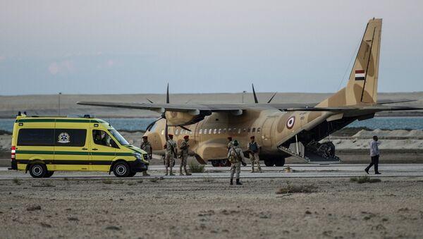 Místo pádu Airbusu A321 letecké společnosti Kogalymavia - Sputnik Česká republika