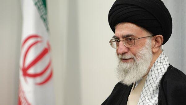 Íránský duchovní vůdce Ali Chamenei - Sputnik Česká republika