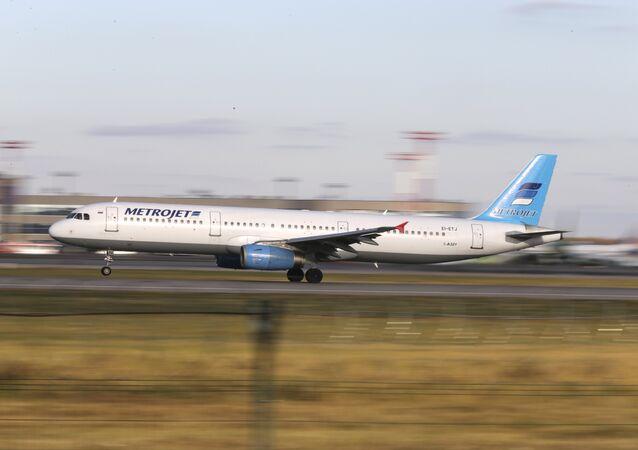 Airbus A321 letecké společnosti Kogalymavia