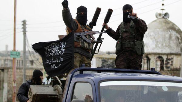 Příslušníci Fronty an-Nusrá napojené na teroristickou organizaci Al-Káida - Sputnik Česká republika