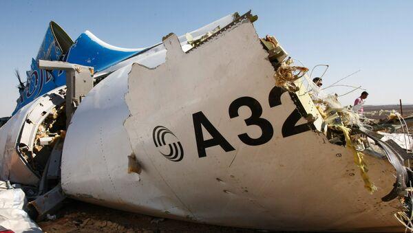 Místo havárie Airbusu 321 - Sputnik Česká republika