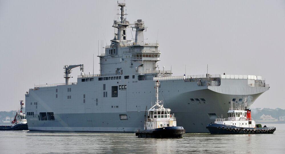 Vrtulníková loď Mistral