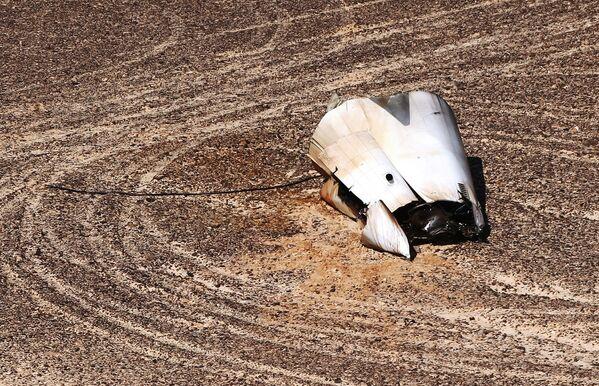 Místo havárie Airbusu A321 na Sinaji - Sputnik Česká republika
