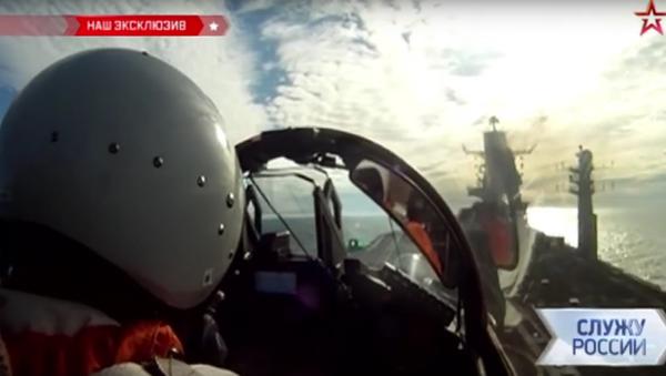 První zkoušky nejnovějších stíhaček MiG-29K - Sputnik Česká republika