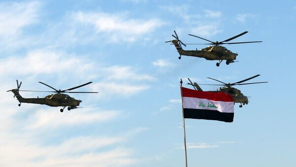 Vrtulníky irácké armády - Sputnik Česká republika