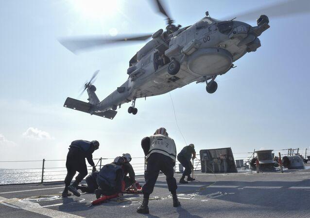 Vrtulník MH-60R Seahawk