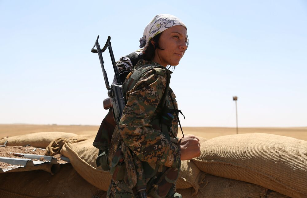 Amazonky Blízkého Východu: Kurdské ženy bojují proti IS