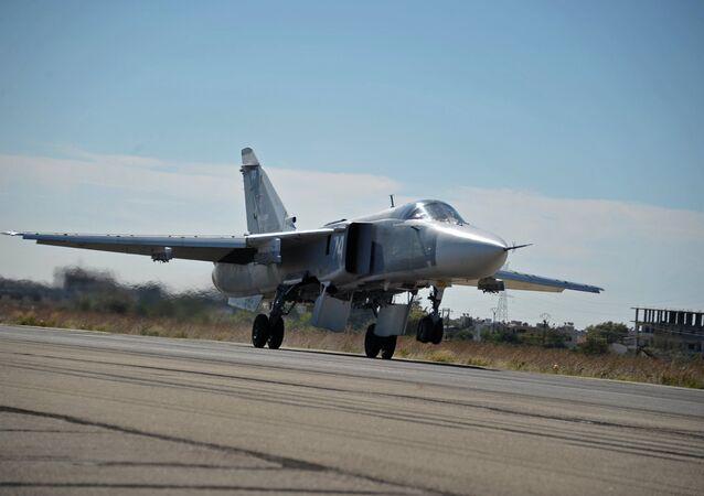Ruské letectvo na základně Hmeimim