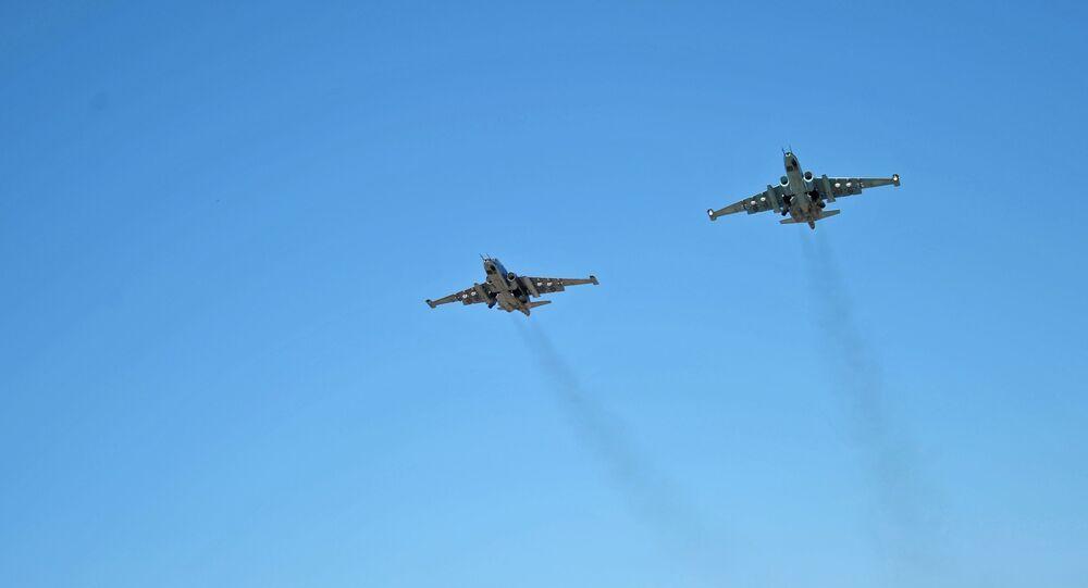 Su-25 v Sýrii