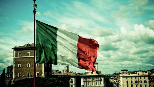 Italská vlajka - Sputnik Česká republika