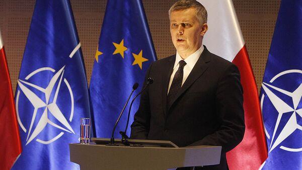 Tomasz Siemoniak - Sputnik Česká republika