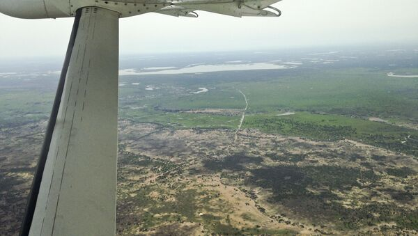 Letadlo nad Jižním Súdánem - Sputnik Česká republika