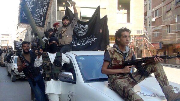 Bojovníci fronty An-Nusra - Sputnik Česká republika