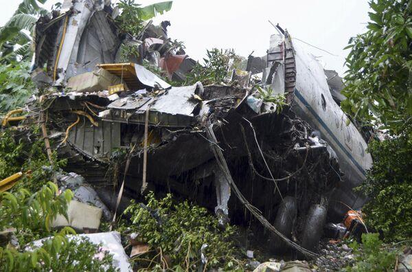 Havárie An-12 v Jižním Súdánu - Sputnik Česká republika