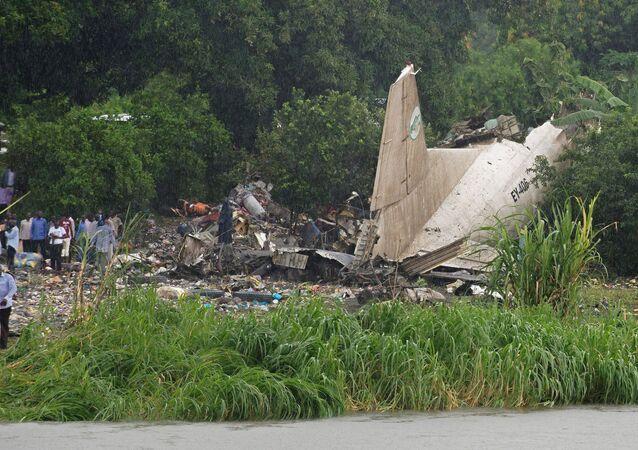Havárie An-12 v Jižním Súdánu