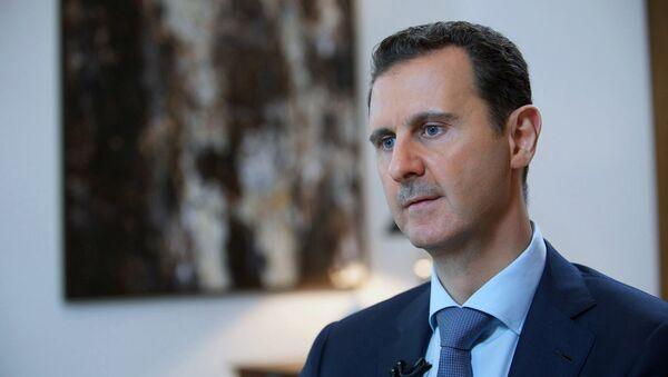 Prezidenta Sýrie Bašár Asad - Sputnik Česká republika