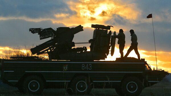 Protiletadlový raketový systém Osa. Ilustrační foto - Sputnik Česká republika