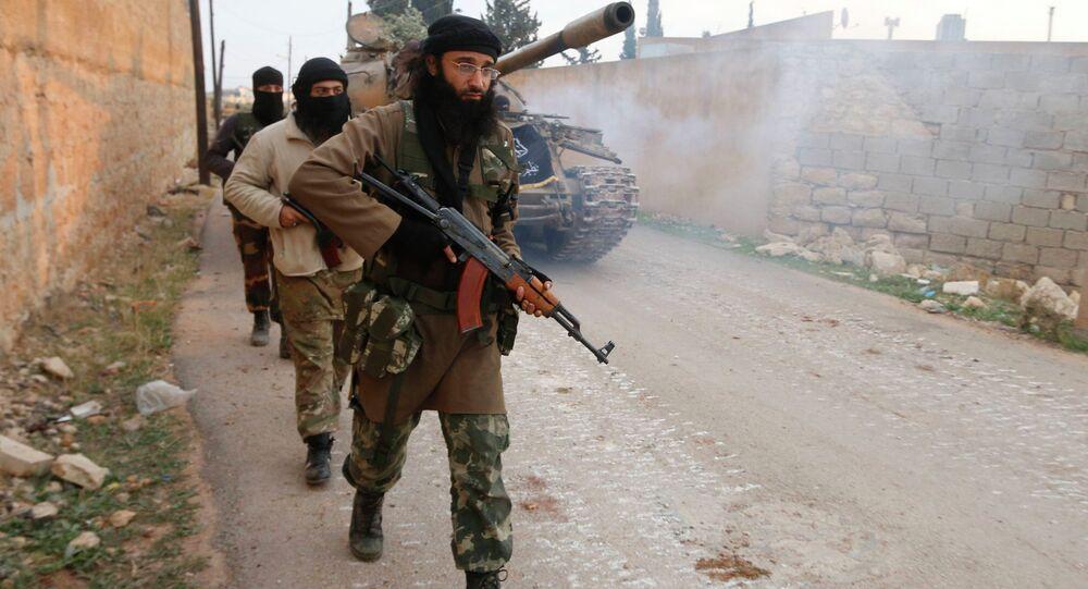 Džihádisté v Sýrii