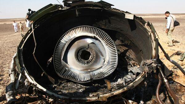 Trosky Airbusu A321 - Sputnik Česká republika