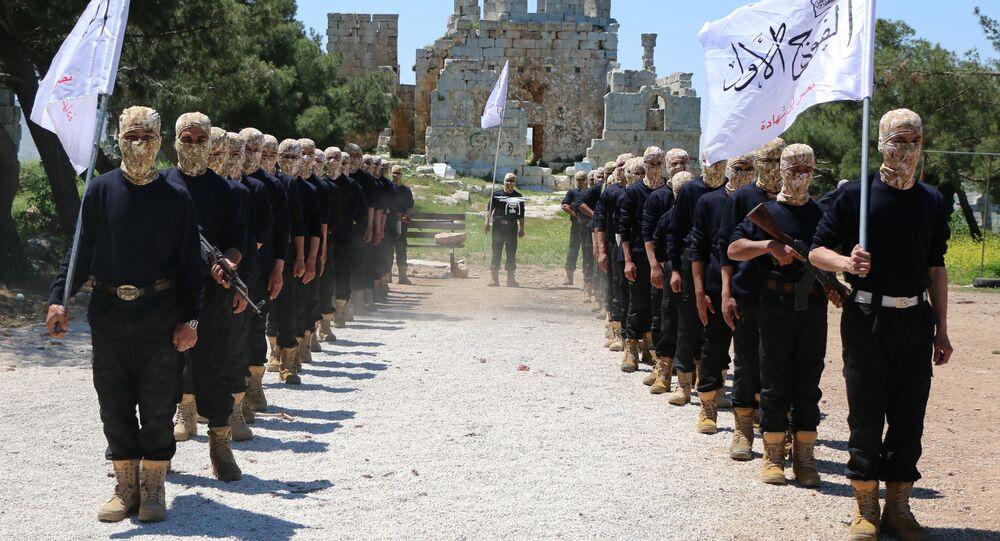 Příslušníci Svobodné syrské armády