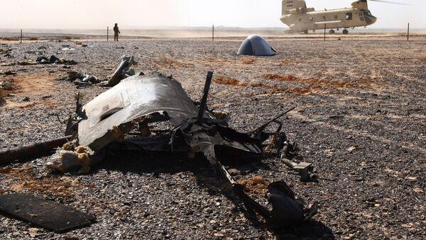 Místo nehody Airbusu A321 - Sputnik Česká republika