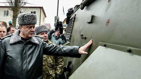 Britský obrněný voz Saxon - Sputnik Česká republika