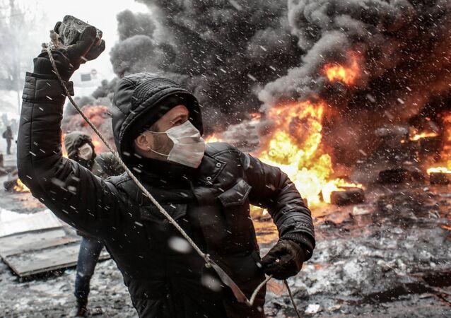 Účastník Euromajdanu