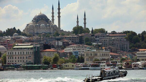 Istanbul, pohled na Bospor - Sputnik Česká republika