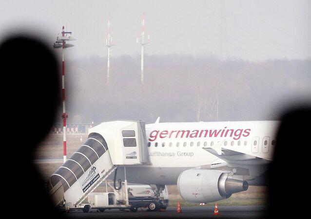 Letadlo Germanwings