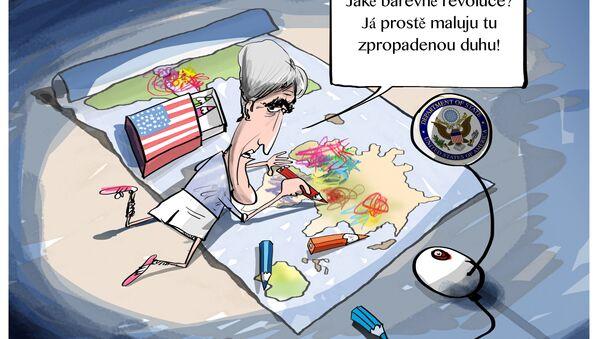 Nové barevné revoluce? - Sputnik Česká republika