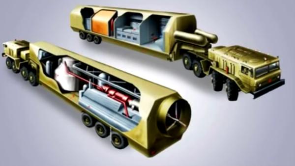 Mobilní jaderné elektrárny - Sputnik Česká republika