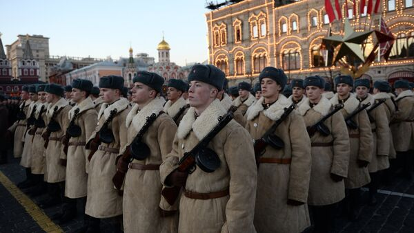Rehearsal of march to mark legendary 1941 military parade - Sputnik Česká republika