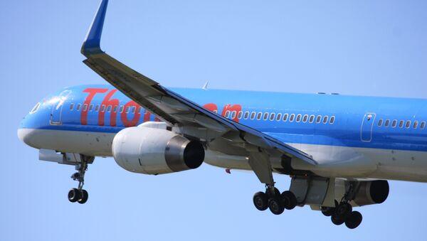 Letadlo společnosti Thomson - Sputnik Česká republika