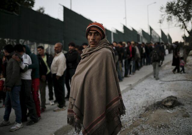 Migranti v Řecku