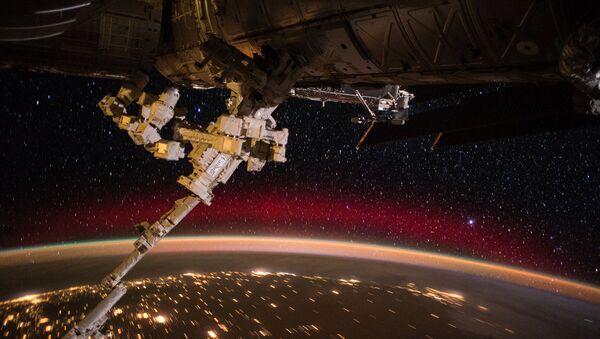 Pohled na Zemi z vesmírné stanice ISS - Sputnik Česká republika