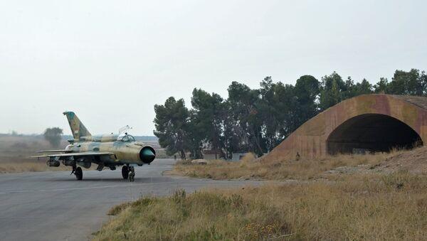 MiG-21 syrského letectva - Sputnik Česká republika