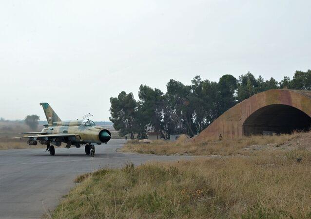 MiG-21 syrského letectva