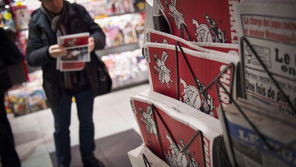 Časopis Charlie Hebdo - Sputnik Česká republika