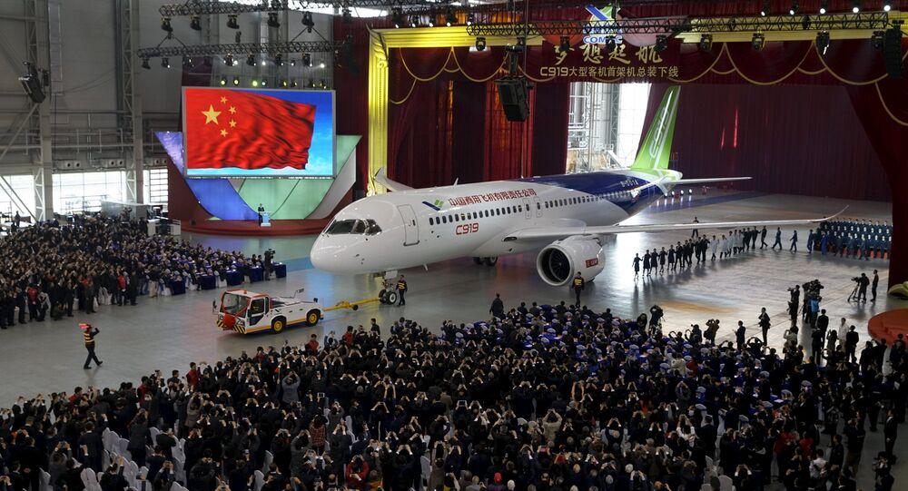 Dopravní letadlo C919