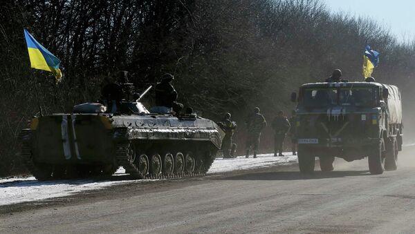 Ukrajinské tanky (ilustrační foto) - Sputnik Česká republika