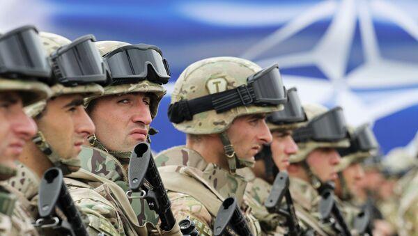 Cvičení NATO v Gruzii - Sputnik Česká republika