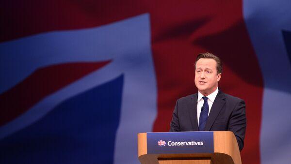 David Cameron - Sputnik Česká republika