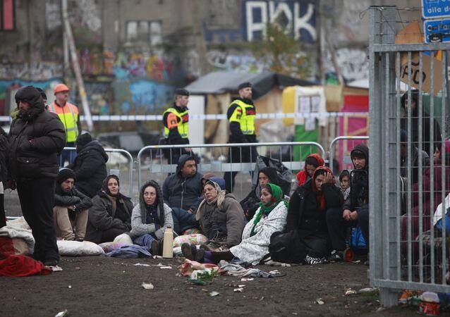 Migranti ve švédském městě Malmö